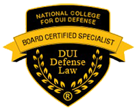 National College for DUI Defense - Board Certified Specialist